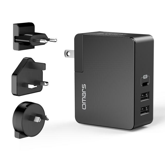 【Omars】USB PD 電源供應器(45W PD充電器)