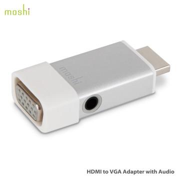 Moshi HDMI to VGA (with Audio) 音頻轉接線