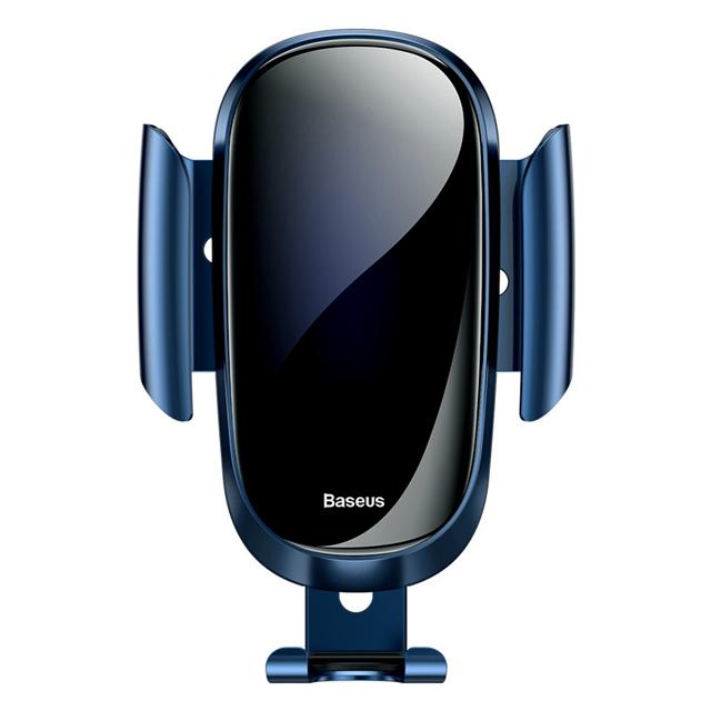Baseus倍思 全面升級 全曲面玻璃重力感應車載手機支架 全新自動鎖緊出風口 汽車導航支架