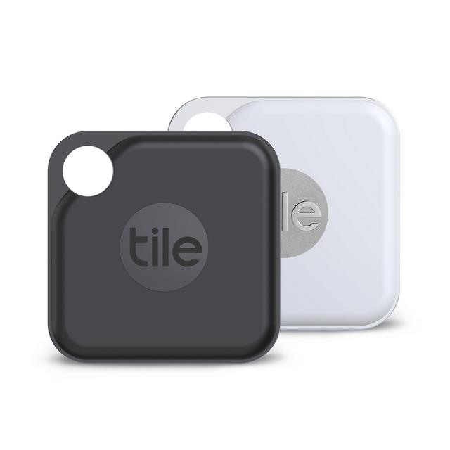 Tile 防丟小幫手- Pro 2.0 雙入組(可換電池) / 黑色+白色