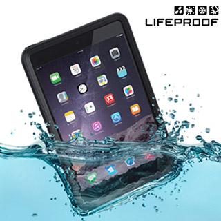 LP iPad mini3 全方位防水/雪/震/泥 保護殼-Nuud(黑)