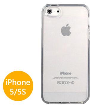 iPhone 5/ 5S/ SE 超薄0.5MM透亮保護殼
