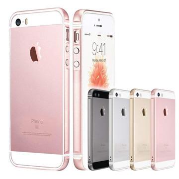 透明殼專家iPhoneSE/5一體成型 金屬矽膠雙材質邊框+保貼組(林果創意Lingo)