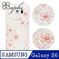 apbs Samsung Galaxy S6 施華洛世奇彩鑽保護殼-櫻花系列