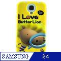 Samsung S4 奶油獅 矽膠軟手機殼-小偵探