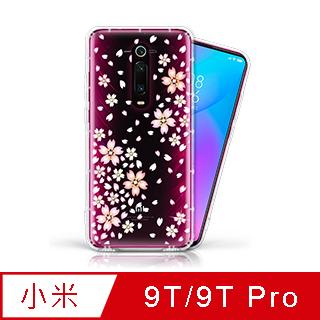 EVO CASE MI 小米 9T / 9T Pro 奧地利水鑽彩繪手機殼 - 櫻花