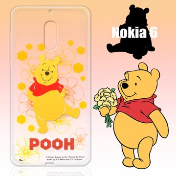 迪士尼限量授權 Nokia 6 彩繪保護殼-小熊維尼