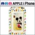 【Disney】Apple iPhone 6 (4.7吋) 微笑系列彩繪透明保護軟套-米奇