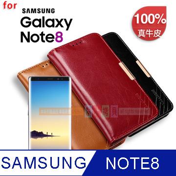 KALAIDENG 卡來登 捨得二系列 for SAMSUNG Galaxy NOTE 8 6.3吋 小牛皮真皮保護套