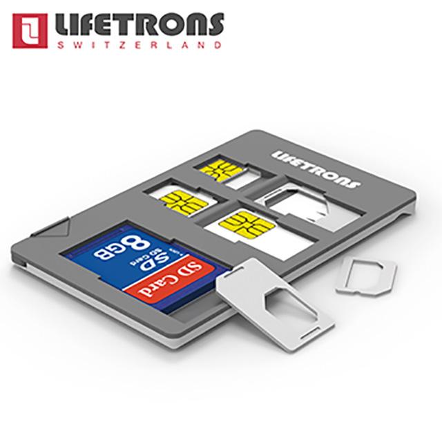 Lifetrons 多功能 手機 SIM 卡收納器