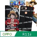 日本東映授權正版 航海王 OPPO R11s 彩繪磁力皮套(封鎖索隆)