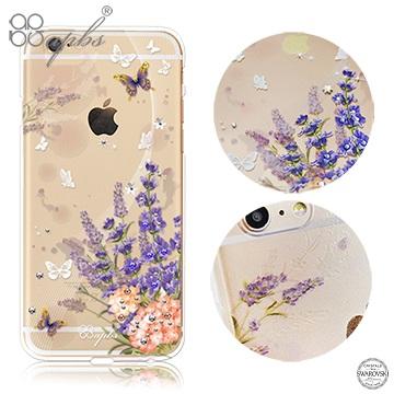 apbs APPLE iPhone6s Plus/iPhone6 Plus 5.5吋 施華洛世奇彩鑽手機殼-普羅旺斯