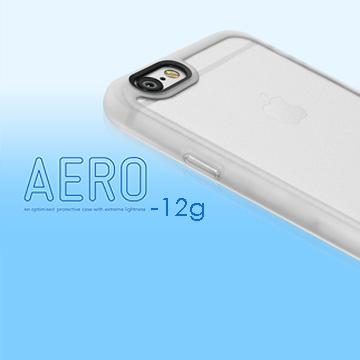 Switcheasy AERO iPhone 6S TPU 輕薄防撞保護殼附可卸式聰明按鈕