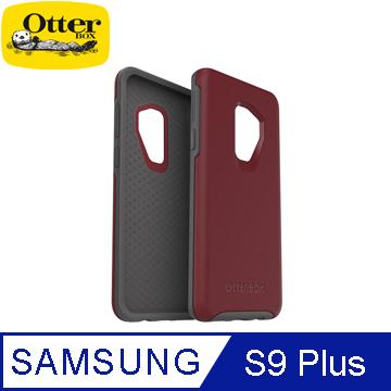 OtterBox Galaxy S9 Plus 炫彩幾何系列保護殼-紅灰 58044