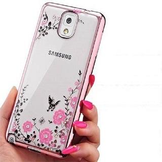 Samsung 三星 Galaxy Note 9彩鑽電鍍邊框透明殼手機殼保護殼