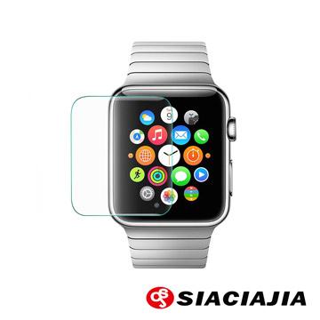 SCJ-Apple iWatch(38mm)手錶鋼化玻璃防爆高清保護貼膜