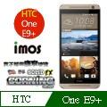 iMOS 宏達電 HTC one E9 PLUS 含正面上下段DotView(TS材質) 康寧 9H 強化玻璃 疏水疏油
