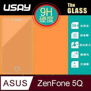 USAY ASUS ZenFone 5Q (ZC600KL) 鋼化玻璃保護貼9H
