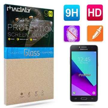 MADALY for Samsung Galaxy J2 Prime 5吋防油疏水抗指紋9H鋼化玻璃保護貼