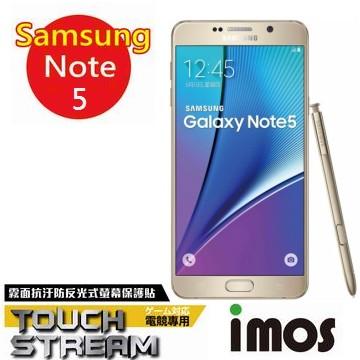 iMOS Samsung Galaxy Note 5 Touch Stream 電競 霧面 螢幕保護貼