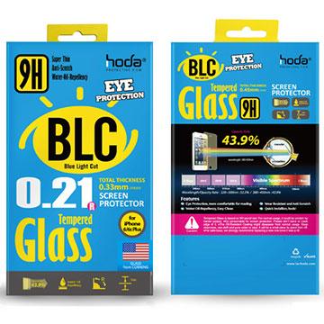 Hoda iphone 6/6S 2.5D滿版 抗藍光 康寧玻璃保護貼