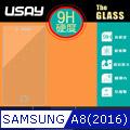 USAY Samsung Galaxy A8(2016) 鋼化玻璃保護貼9H