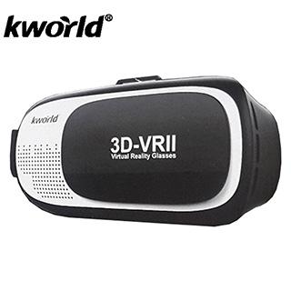 (福利品)【Kworld 廣寰】3DVR虛擬實境眼鏡-炫彩限定版(外盒受損)