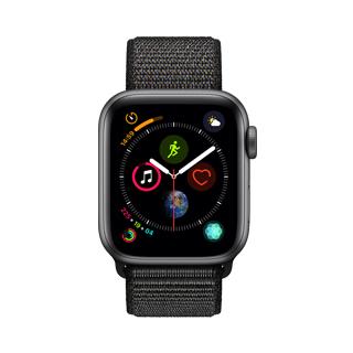 APPLE WATCH S4 40 SG AL BLK SL GPS-TWN-(MU672TA/A)