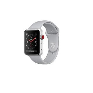 Apple Watch Series 3 GPS+行動網路 42公釐 銀鋁/霧灰運動(MQKM2TA/A)