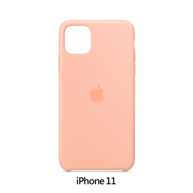 iPhone 11 矽膠保護殼 - 葡萄柚色 Grapefruit (MXYX2FE/A)