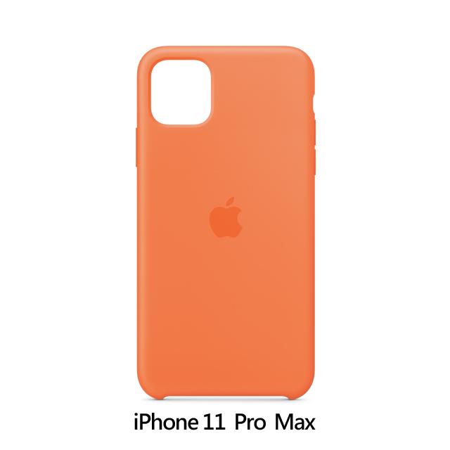 iPhone 11 Pro Max 矽膠保護殼 - 維他命橙色 Vitamin C (MY112FE/A)