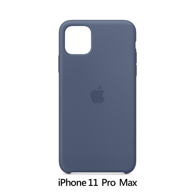 iPhone 11 Pro Max 矽膠保護殼 - 阿拉斯加藍色 Alaskan Blue (MX032FE/A)
