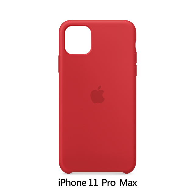 iPhone 11 Pro Max 矽膠保護殼 - (PRODUCT)RED (MWYV2FE/A)
