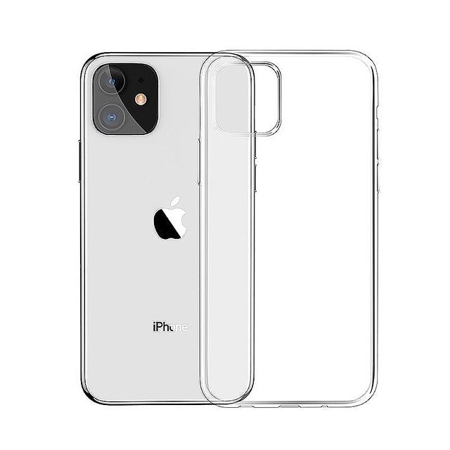 【BASEUS】倍思iPhone 11經典防刮抗撞高透TPU軟殼/手機保護殼 (透明)