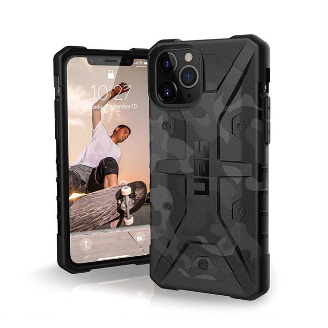 【UAG】 iPhone 11 Pro 耐衝擊迷彩保護殼-黑
