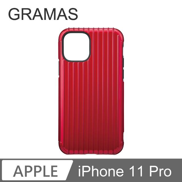 GM iPhone 11 Pro 軍規防摔經典手機殼- Rib (紅)