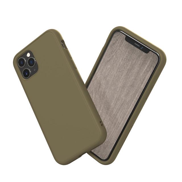 犀牛盾 SolidSuit 防摔背蓋手機殼 - iPhone 11 Pro Max 可可棕(SSA01149E6)