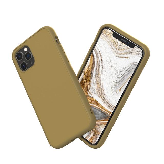 犀牛盾 SolidSuit 防摔背蓋手機殼 - iPhone 11 Pro Max 卡其(SSA01149E7)