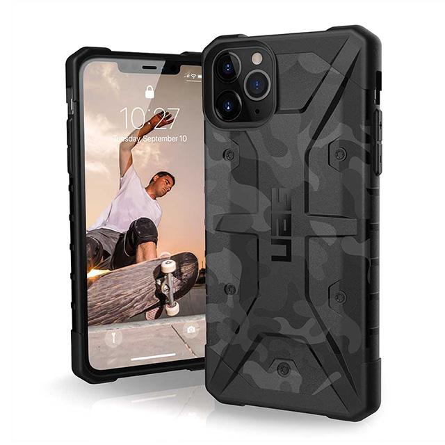 【UAG】 iPhone 11 Pro Max 耐衝擊迷彩保護殼-黑