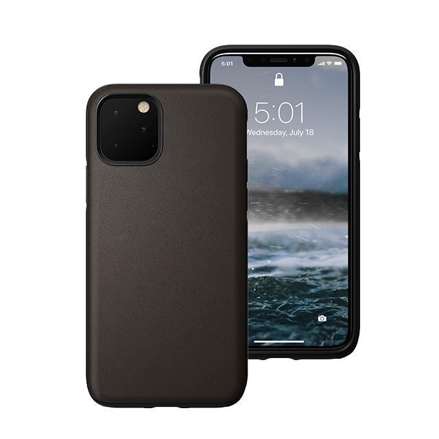 美國NOMAD Heinen防水牛皮防摔保護殼 iPhone 11 Pro Max 深棕