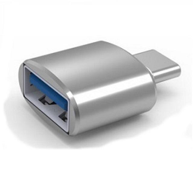 ZBAND USB3.0轉TYPE-C鋁合金轉接頭-銀