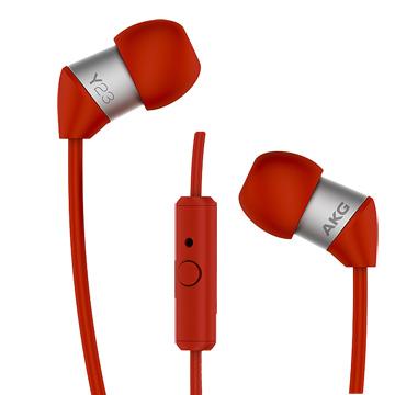 AKG in-Ear 系列耳機 Y23U紅色