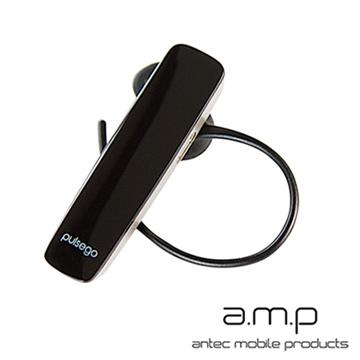 a.m.p pulse go 高音質雙待機藍牙耳機- 黑