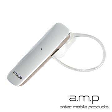 a.m.p pulse go 高音質雙待機藍牙耳機- 白