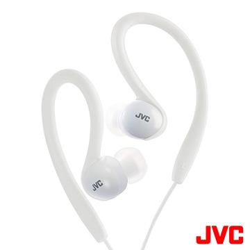 JVC HA-EBX5 繽紛運動彈性防水耳機-純淨白