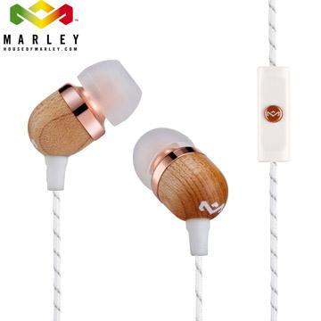 Marley Smile Jamaica - 1BM  微笑牙買加單鍵入耳式耳機 - 奶油金(JE041-CP)