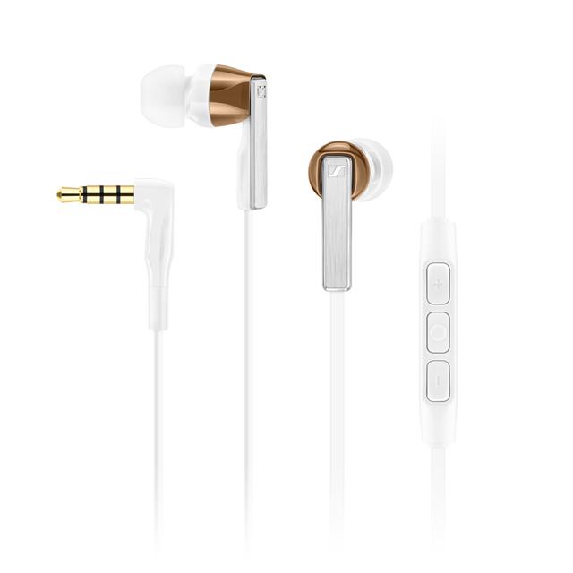 iOS專用 SENNHEISER CX5.00i 白色 iOS系統專用 耳道式耳機