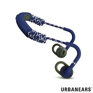 Urbanears 瑞典設計 Stadion運動款藍牙耳機 (樂遊藍)