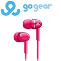 GoGear GEP3000 耳道式耳機 紅