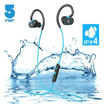 ifiveIPX4運動藍牙耳機(藍)